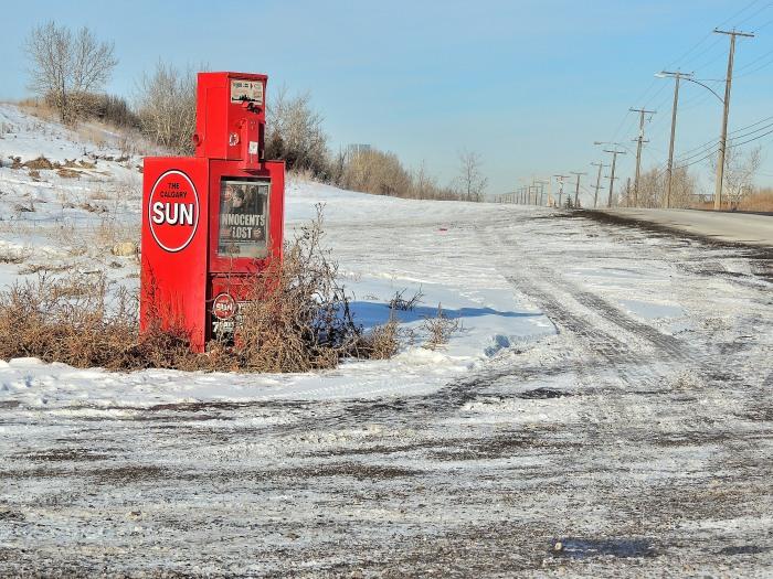 A random drive through the center of Calgary produces this...