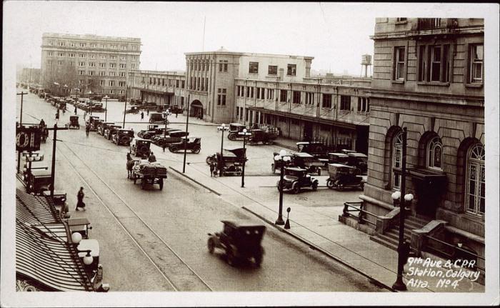 Calgary downtown, 1920's