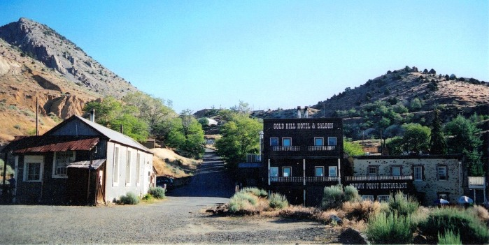 Gold Hill Hotel, a gem in the sagebrush!
