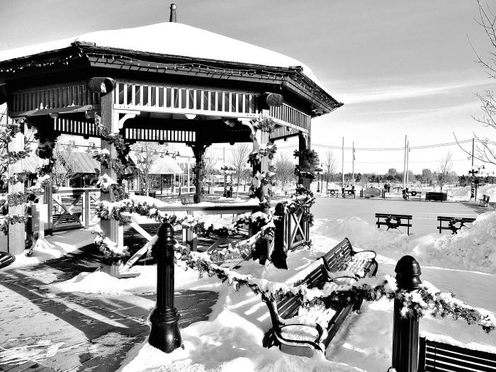 Pavilion at Heritage Park, Calgary, Alberta