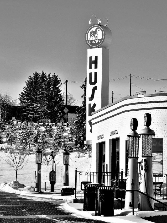 Gasoline Alley, Heritage Park, Calgary, Alberta