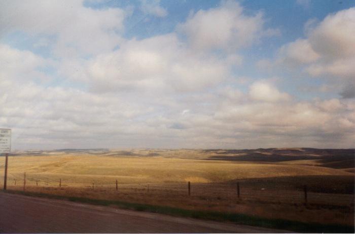 Montana border