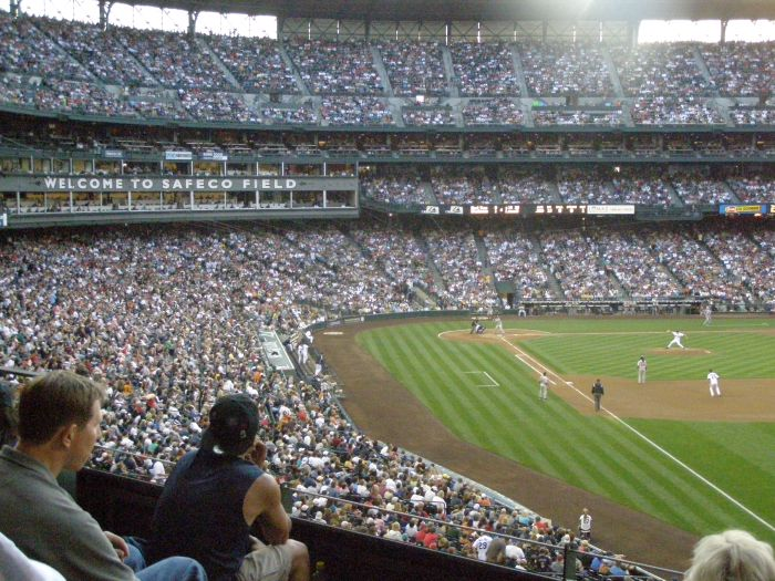 And yes, we did get tickets to the Mariners vs. Red Sox's - and yes, the Red Sox's won!