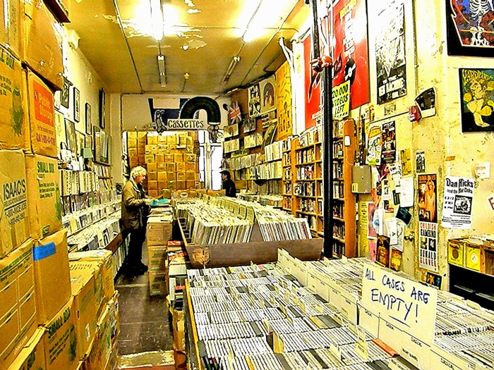 Love of music...Boston Record Store