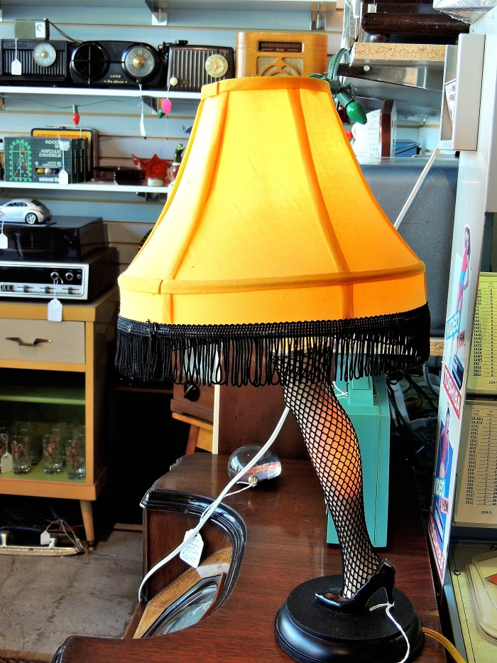 The ledgendary leg lamp from The Christmas Story