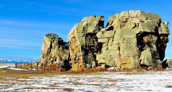 "Okotoks Erratic - ""The Big Rock"""