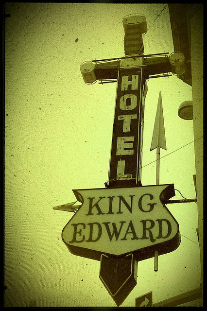 King Eddy Hotel, now part of the Nation Music Centre.