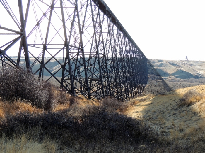 Hige Level Bridge, Lethbridge, Alberta