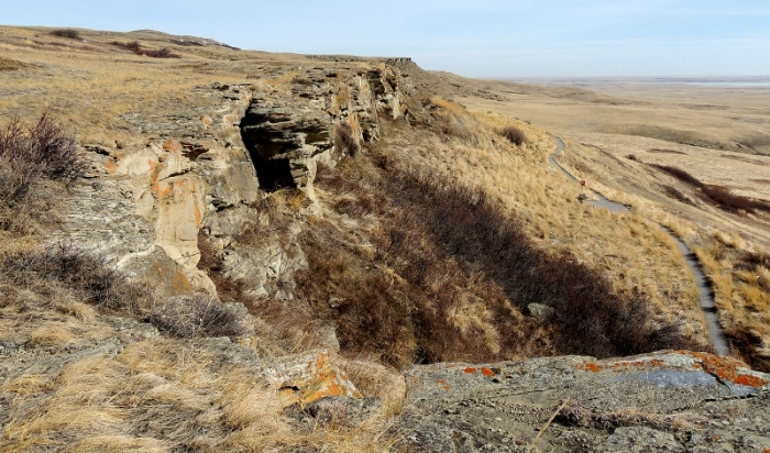 Head-Smashed-In Buffalo Jump, near Fort MacLeod, Alberta