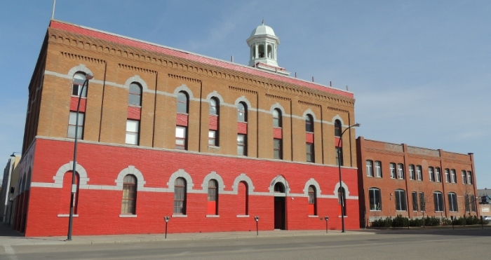 Fire Hall No.1 in Lethbridge