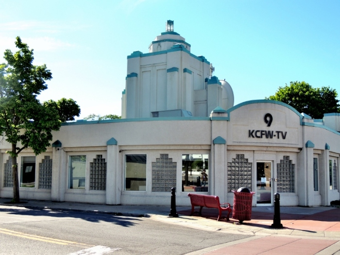 Kalispell's TV station, very art deco!