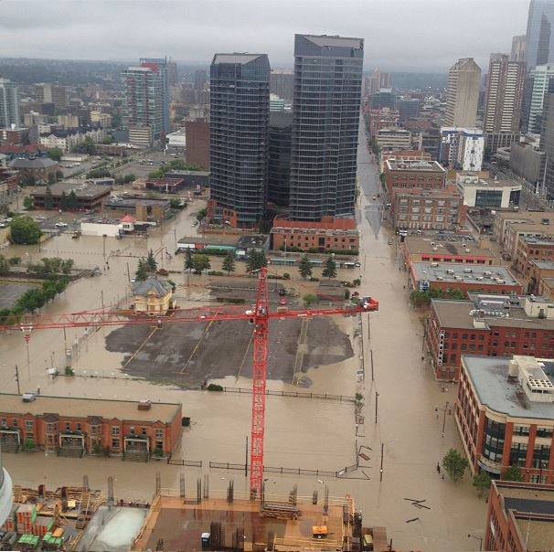 Taken by another media source - Downtown Calgary