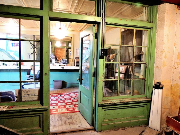 """Barber Shop"", part of the Underground Tour...perhaps a prohibition shop instead?"