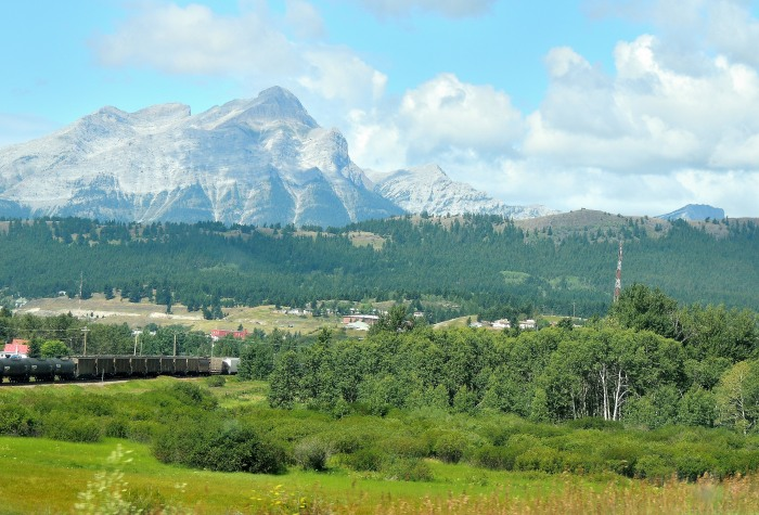 Entering the Crowsnest Pass via Highway 3