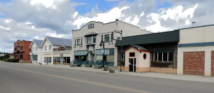 West Canadian Collieries Office, Thompson Grocery, and Greenhill Grill/JE Uptown Building...