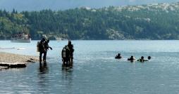 Emerald Bay Shipwreck divers...