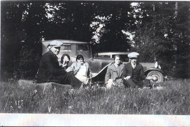 Grandpa Rosenber and family