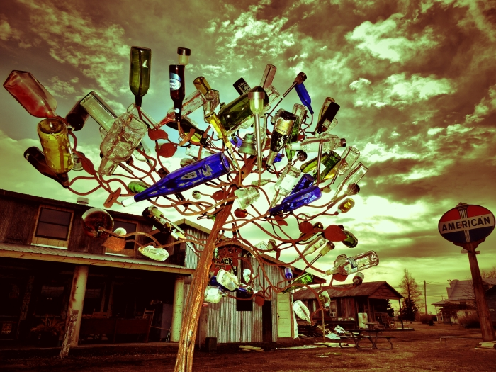 Bottle tree...